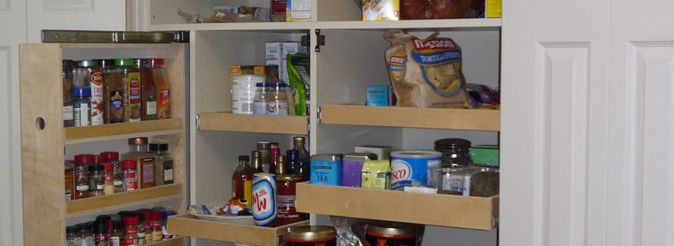 built-in-pantry